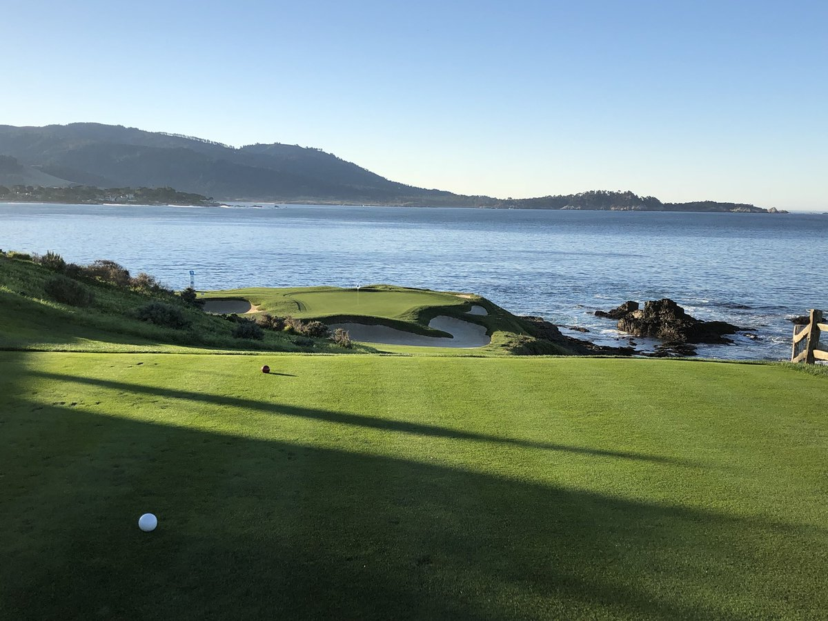 Branden Grace On Twitter What An Awesome First Time Playing Pebble Beach Today Really Was Picture Perfect Looking Forwatd To A Great Week Here Attproam