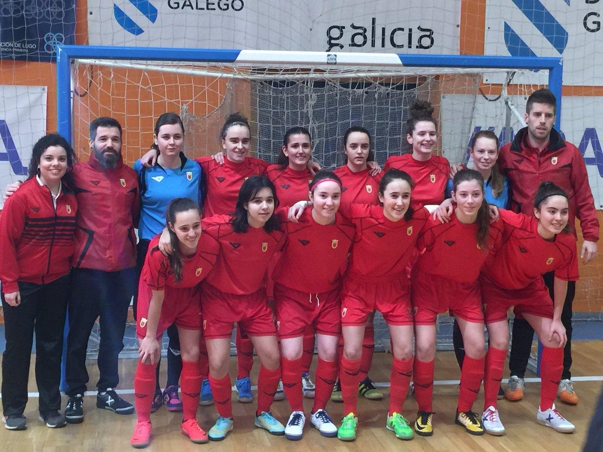Desde La Banda - Fútbol Navaro (DLB-FN) | Selección Navarra de Fútbol Sala Femenino Sub-17 en Burela.