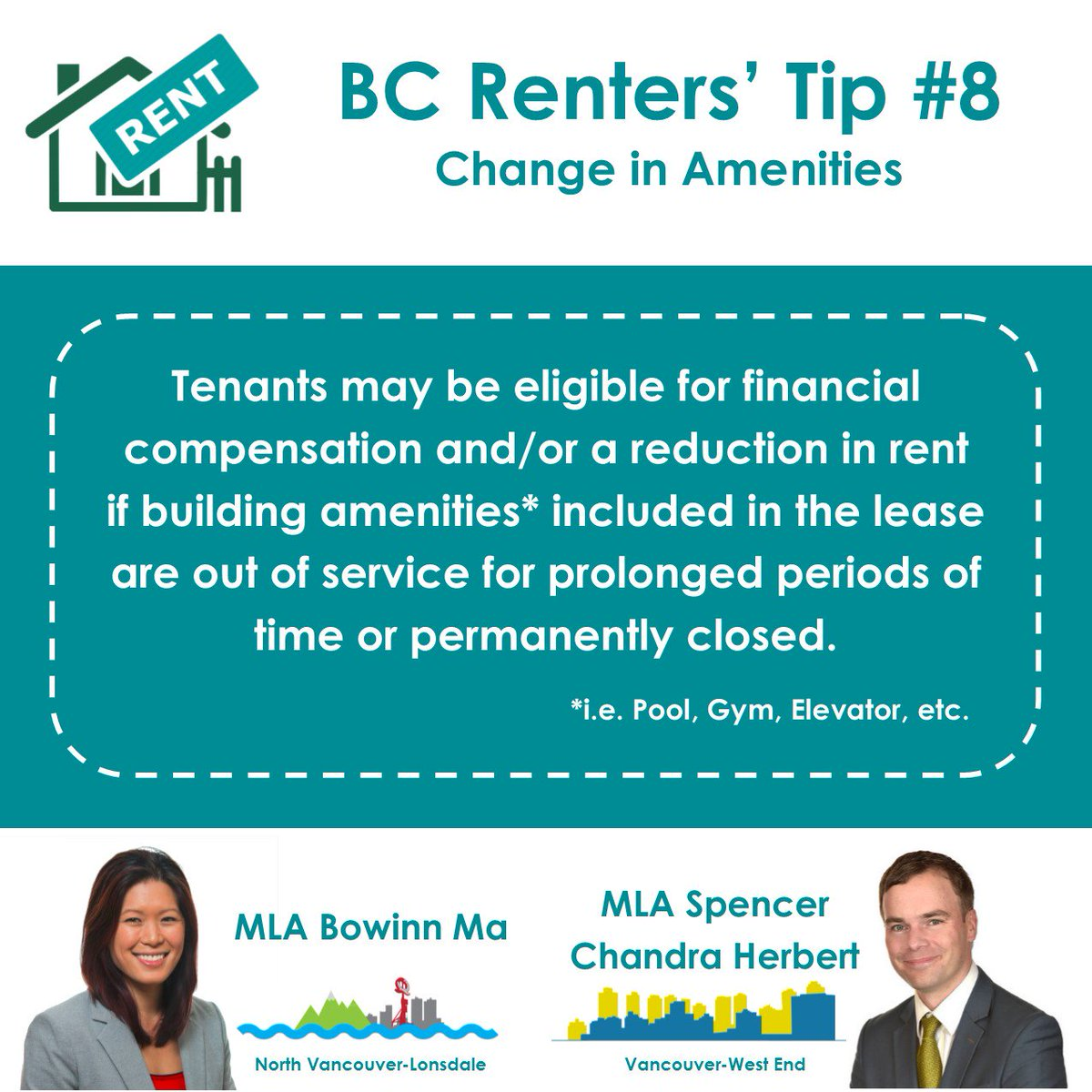 Bowinn Ma On Twitter New Renters Tip If A Landlord Is Going To