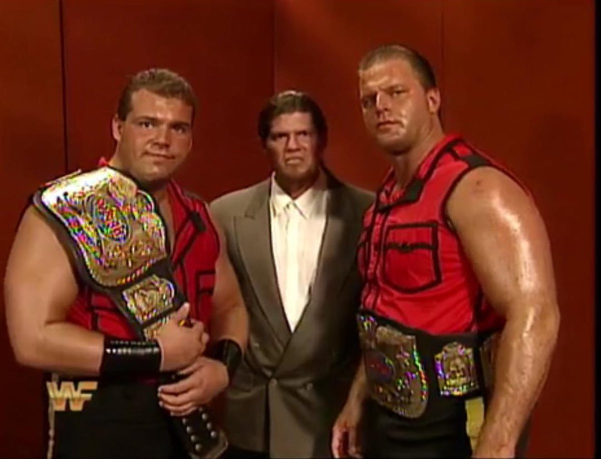 """New WWF Generation on Twitter: """"Jacques & Pierre. The Quebecers #WWF #WWE  #RAW #MondayNightRaw #JohnnyPolo #TheQuebecers #NewWWFGeneration #TagTeam… """""""