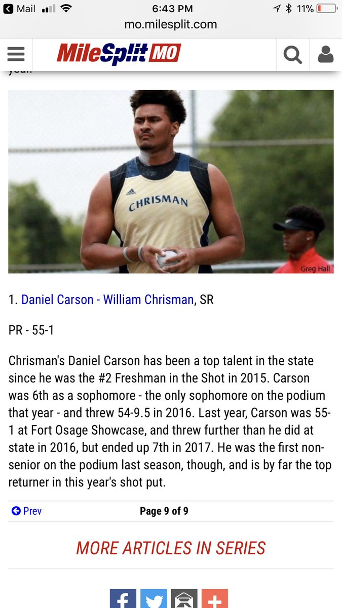 Rankings mean nothing other than its gonna be a fun year! Focus on what we can control and that's our own effort and practice habits! #RememberTheGoal @sports__finest   @FKToese the #2 preseason ranked thrower sits at 53'. David has a shot to make the podium look 'beary' nice!<br>http://pic.twitter.com/rnluo902c1