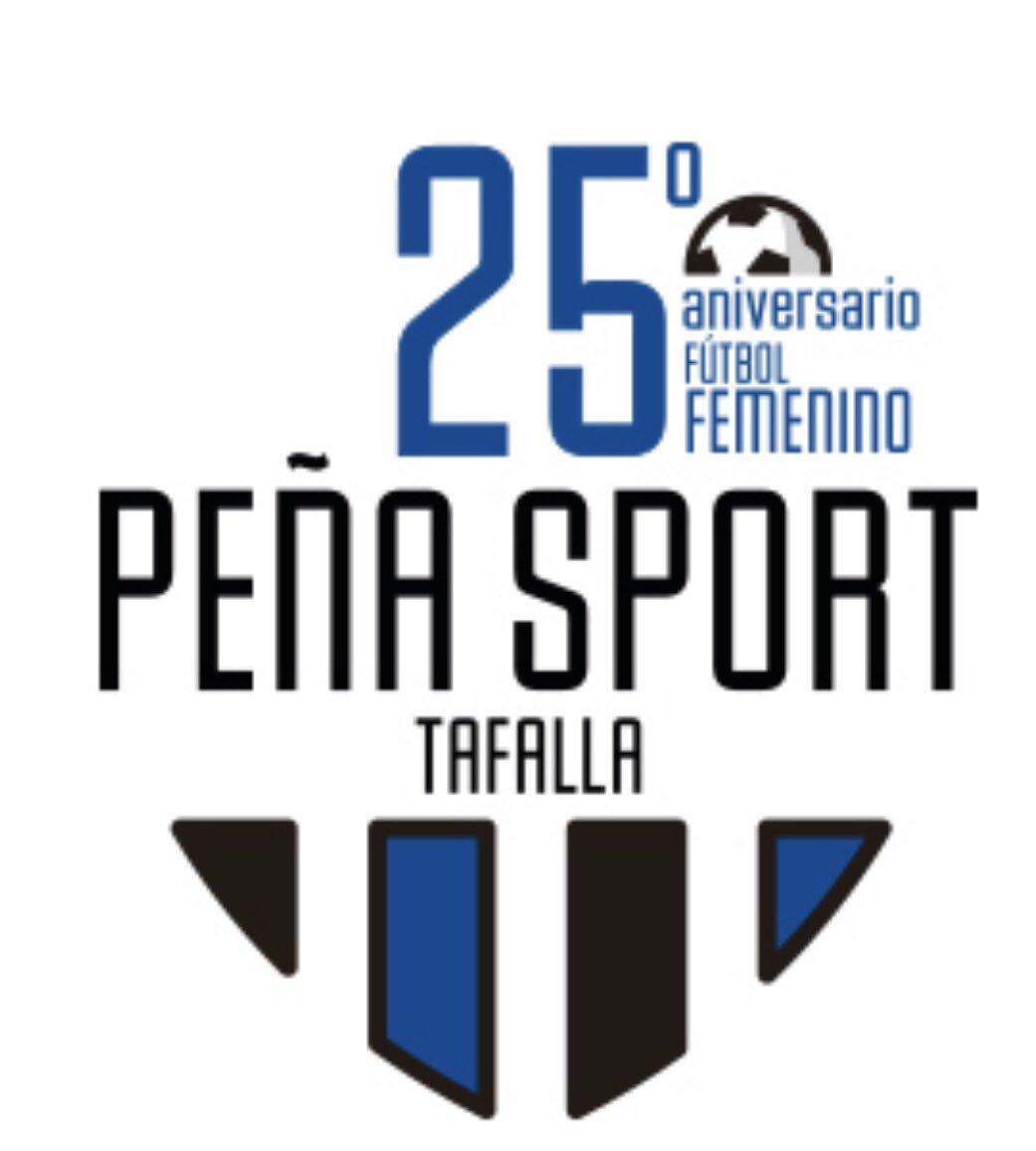 Desde La Banda - Fútbol Navarro (DLB-FN) | Logotipo del 25º aniversario de la Peña Sport F.C. Femenino
