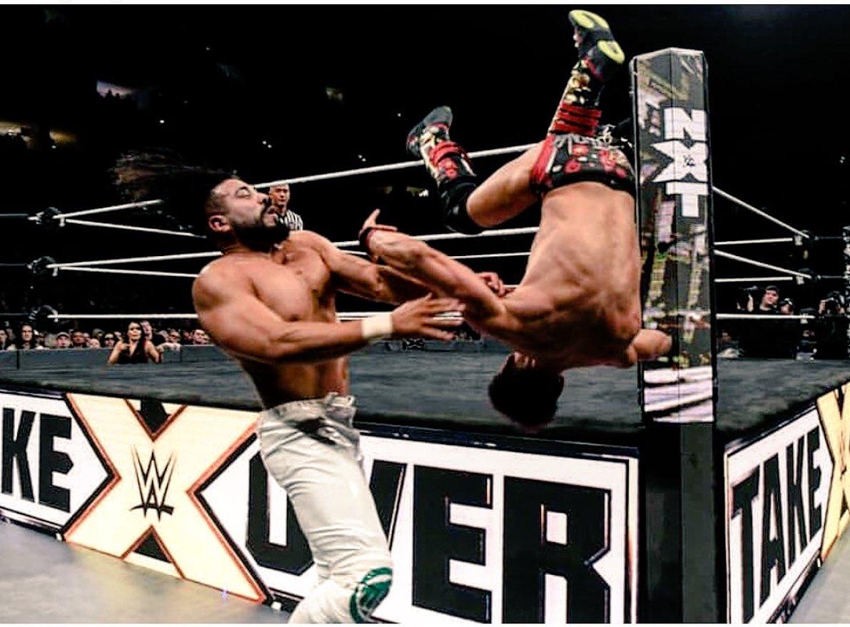 Nobody like El Ídolo����♂️ #ElIdolo #Tranquilo #WWENXT #NXTPhiladelphia #Andrade #Cien #Almas https://t.co/dOg8lS5pwk