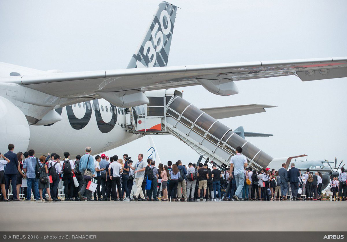 Airbus On Twitter Greetings From Singapore The A350 1000 Is The