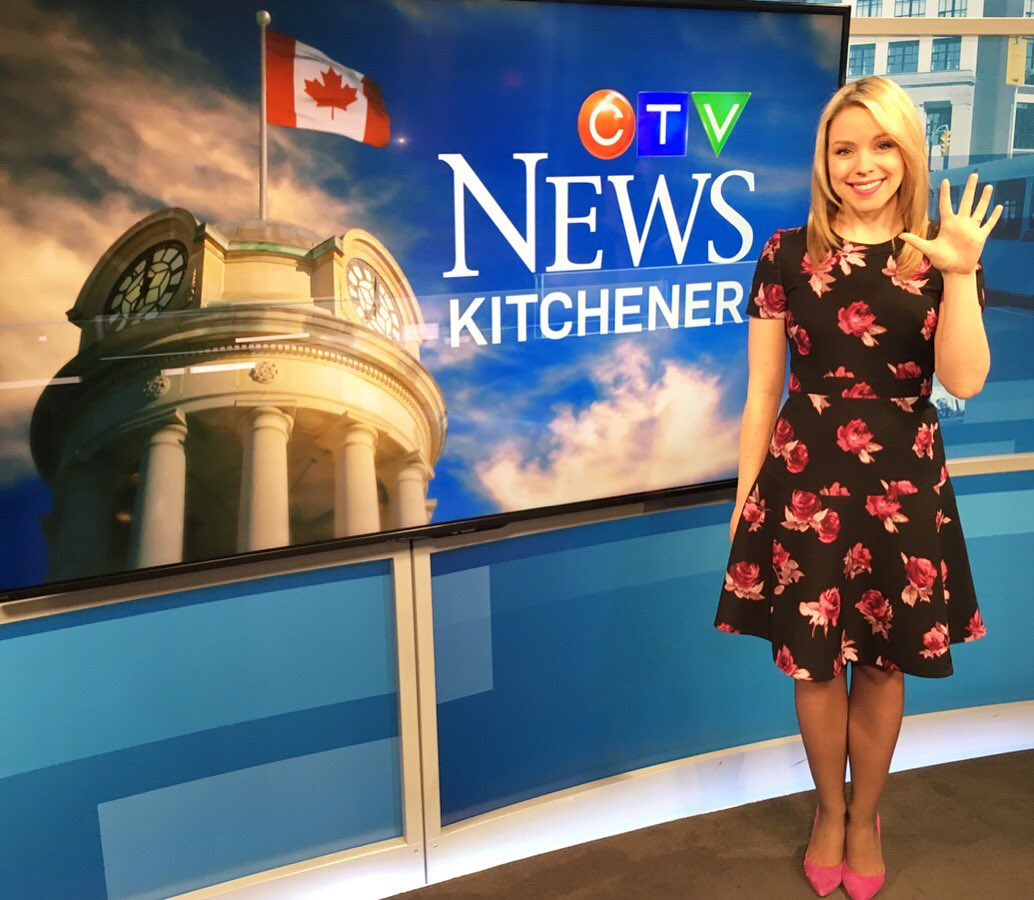 """Kitchener Weather: Lyndsay Morrison On Twitter: """"High FIVE 👋 To 5 Years At"""