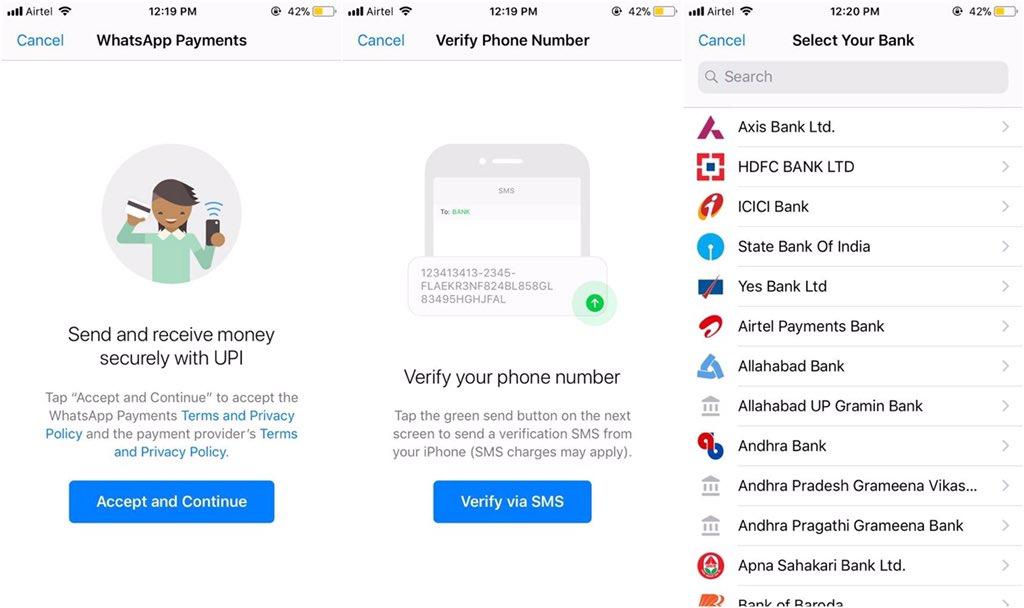 WhatsApp uvodi transfer novca
