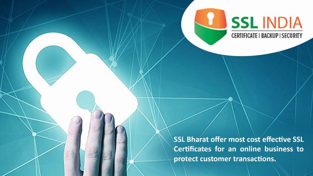Ssl India On Twitter Sslbharat Ssl Certificate Authority In India