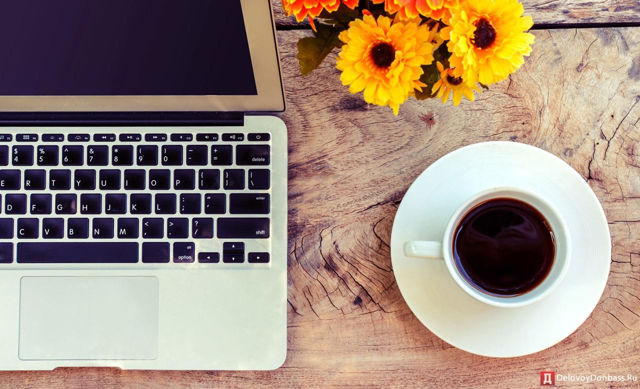 красивая картинка ноутбук и кофе своих коллекциях дизайнеры
