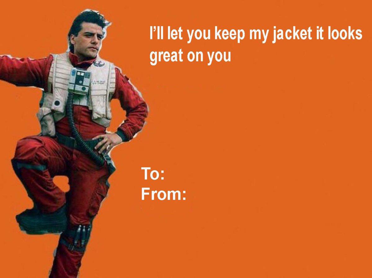 Sequel Memes On Twitter Poe Dameron Valentines Day Httpstco
