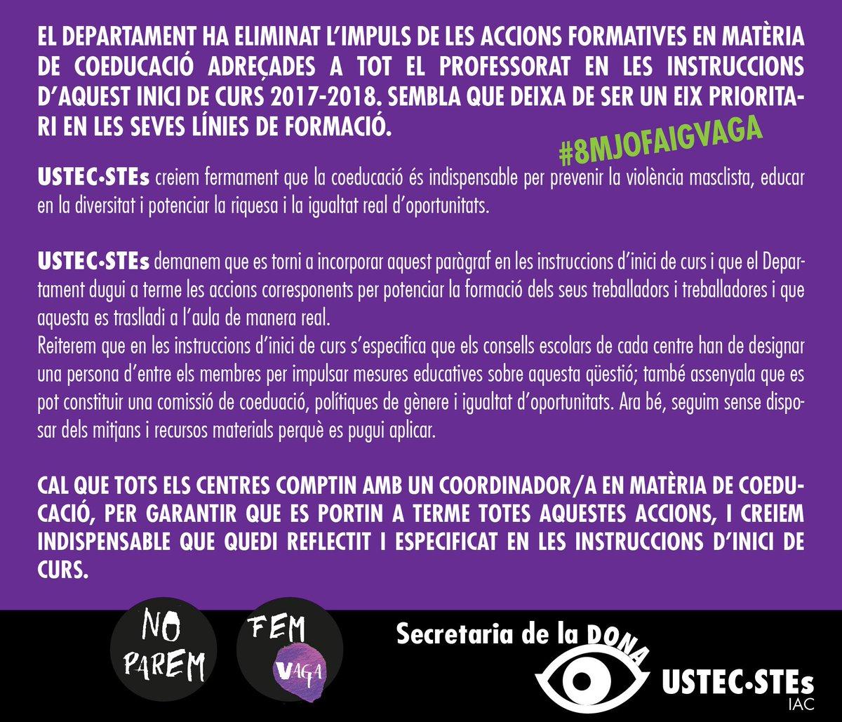 Secre Dona USTEC-STEs's photo on #8MJoFaigVaga