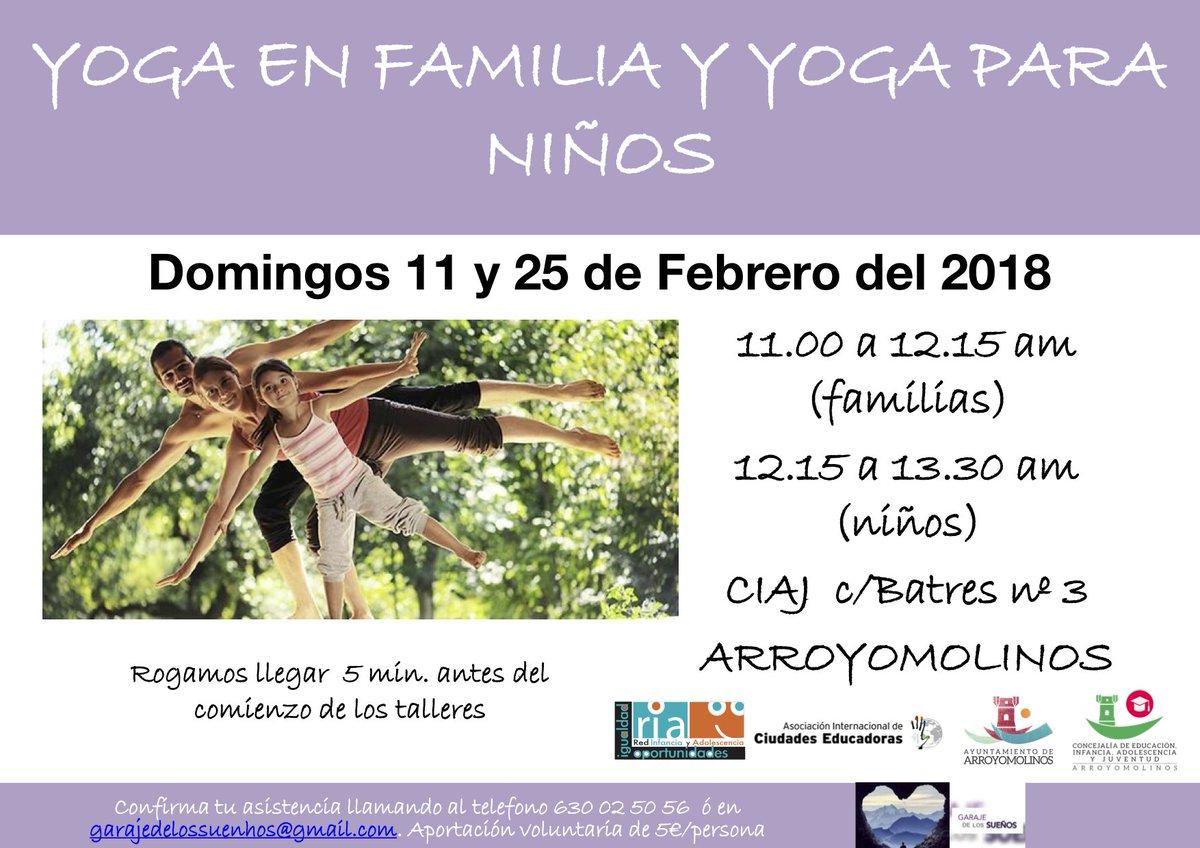 yoga arroyomolinos