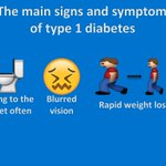 It can happen to anyone at any time. Symptoms of type 1 #diabetes can develop quickly. Please retweet and encourage anyone with symptoms to go to the doctor immediately. #ThursdayThoughts  https://t.co/U9gA1Sa97m