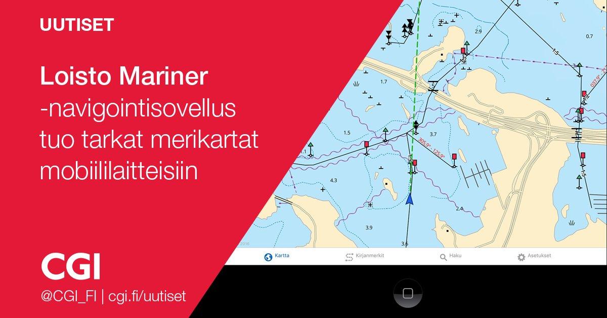 Julia Heiskanen On Twitter Loisto Mariner Kartta Sovellus