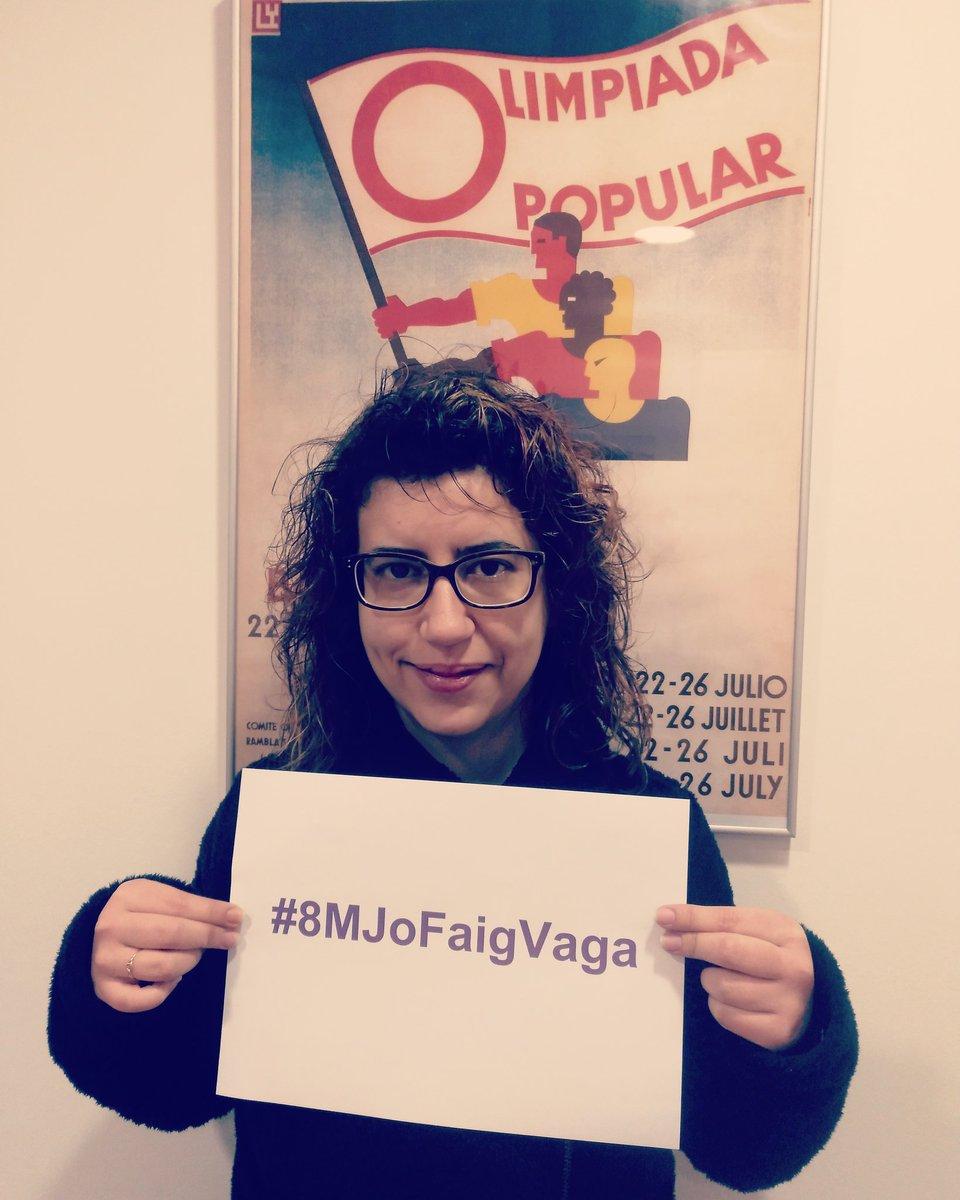 Vera Sánchez's photo on #8MJoFaigVaga
