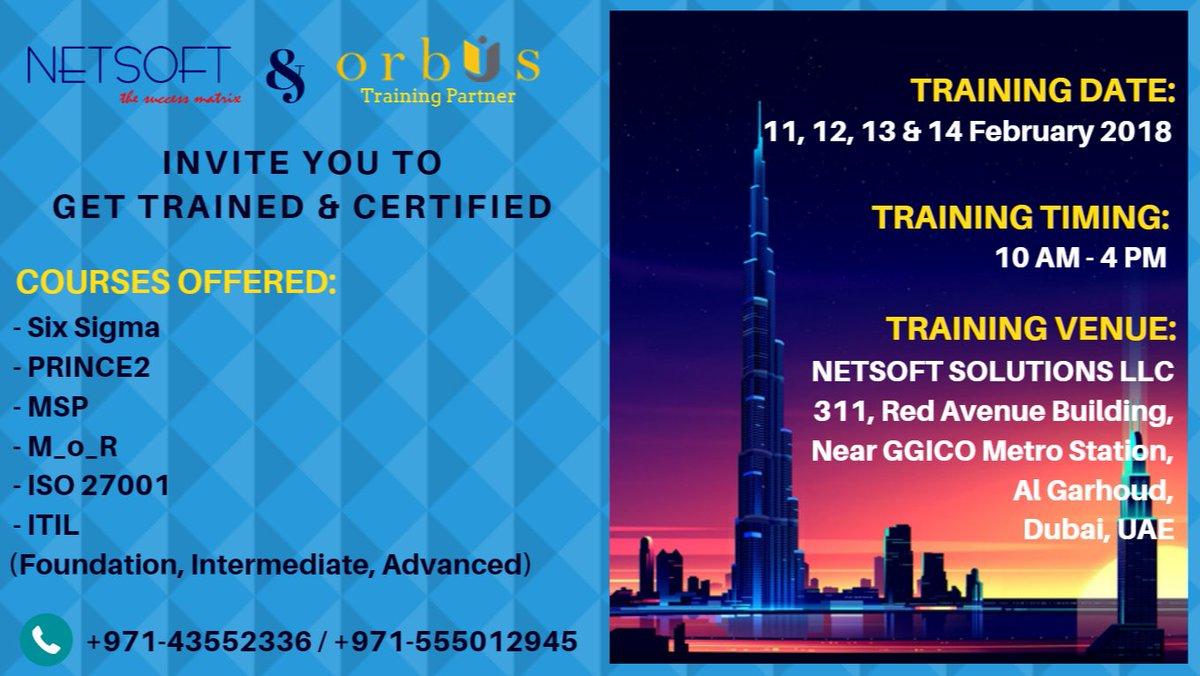 Orbus International On Twitter Get Trained Certified In Itil