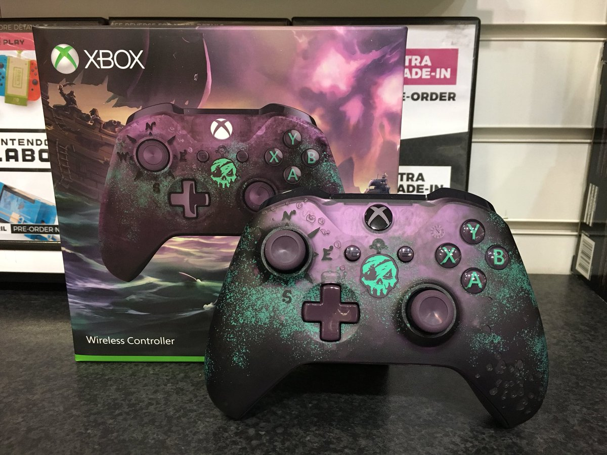 Well shiver me timbers! There's a few #SeaOfThieves controllers left to preorder! Out 15/02/18, secure yours for only a £10 deposit ☠️💰💣 https://t.co/rDfQ4AFvCM