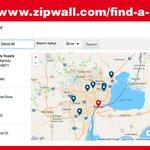 Image for the Tweet beginning: Wondering where to buy ZipWall®