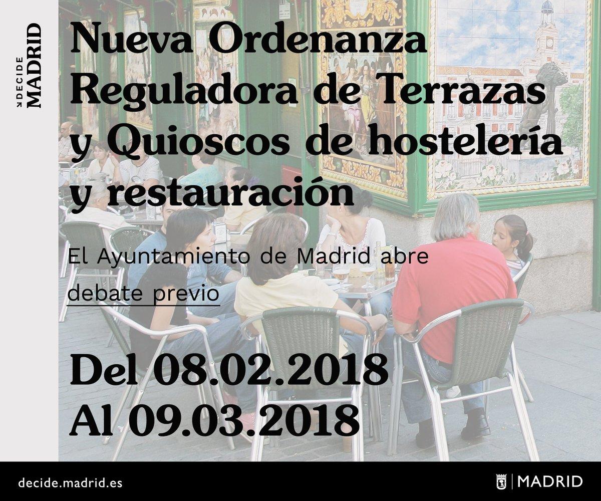 Decide Madrid On Twitter El Ayuntamiento De Madrid Abre