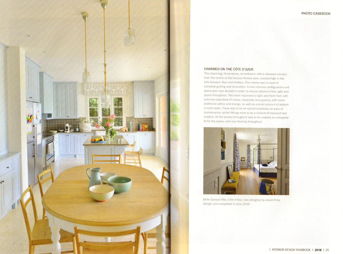 New Consumer Edition Of The Interior Design Yearbook 2018 This Is Belle Epoque Villa France With Interiors By Nina Laty Maison Decor
