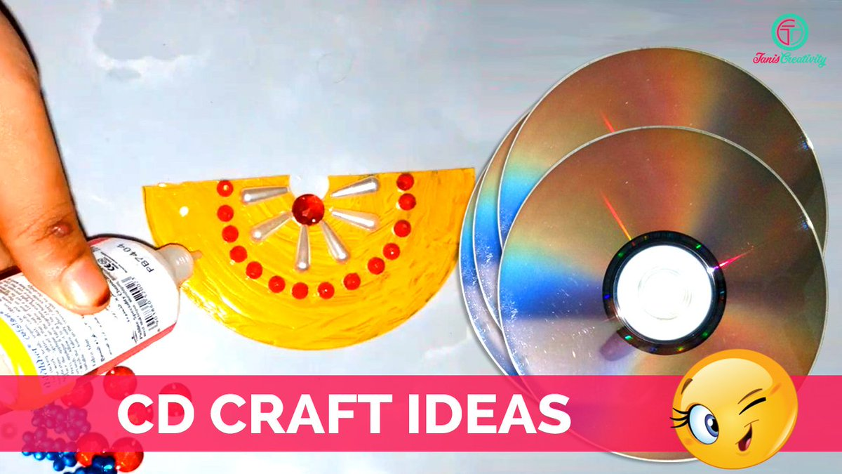 How To Create Cd Wall Hanging From Craft Ideas
