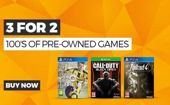 We have a wide range of titles available in our 3 for 2! Expand your collection or try something new! #GAME https://t.co/5hVvi7GBYp