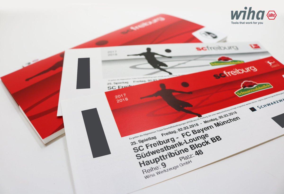 Sc Freiburg Karten.Wiha On Twitter Mitmachen Und Vip Tickets Für Das Spiel Sc