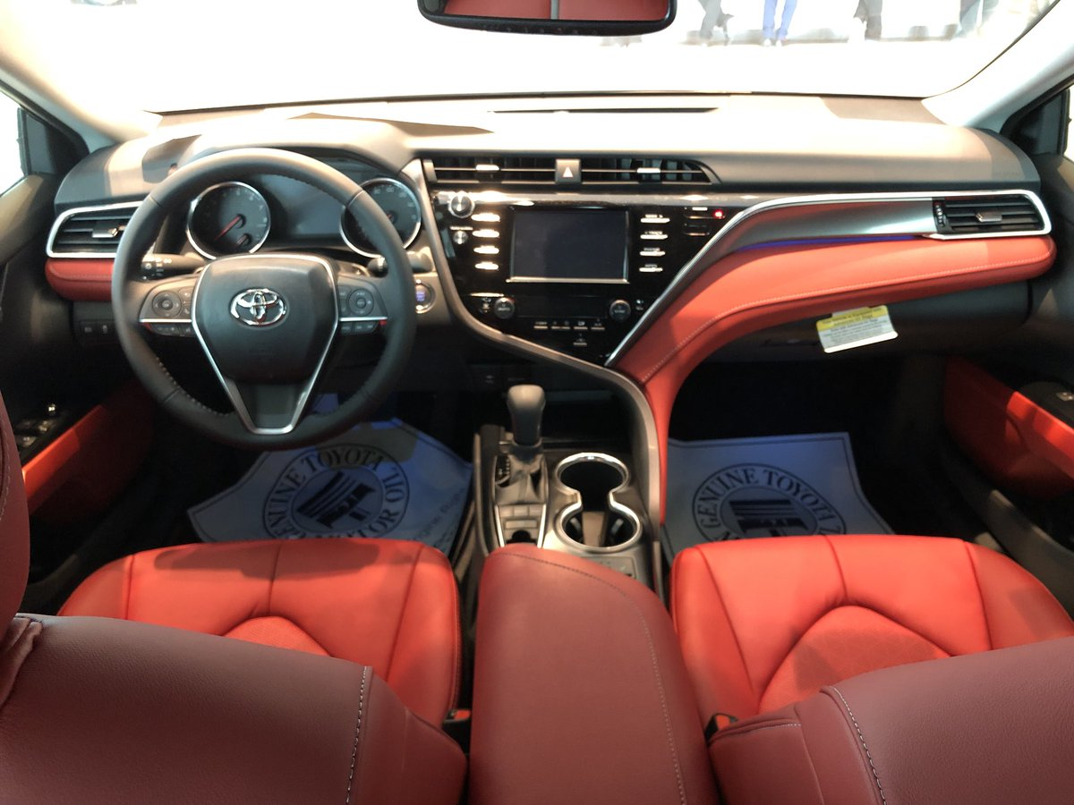 Toyota Of N Miami On Twitter 2018 Toyota Camry Xse Camry S Redesigned Seats Are Distinctively Shaped With Available Leather Trim And Contrast Stitching Such Finely Crafted Details Ensure Your Style Never Takes