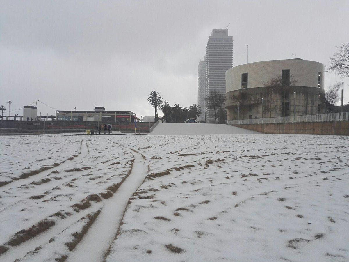 neige Barcelone