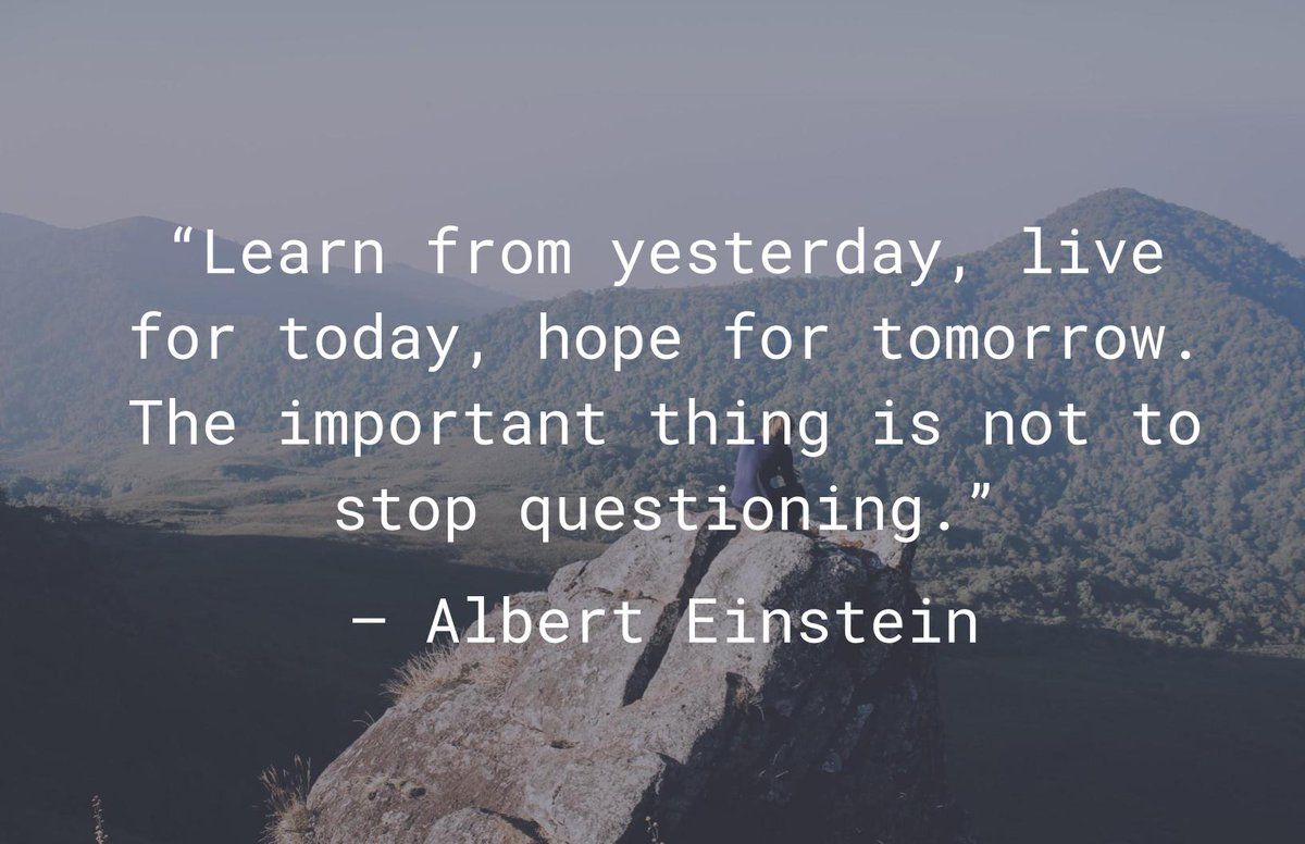 """Live For Today Quotes Cuebiq On Twitter """"""""Learn From Yesterday Live For Today Hope"""