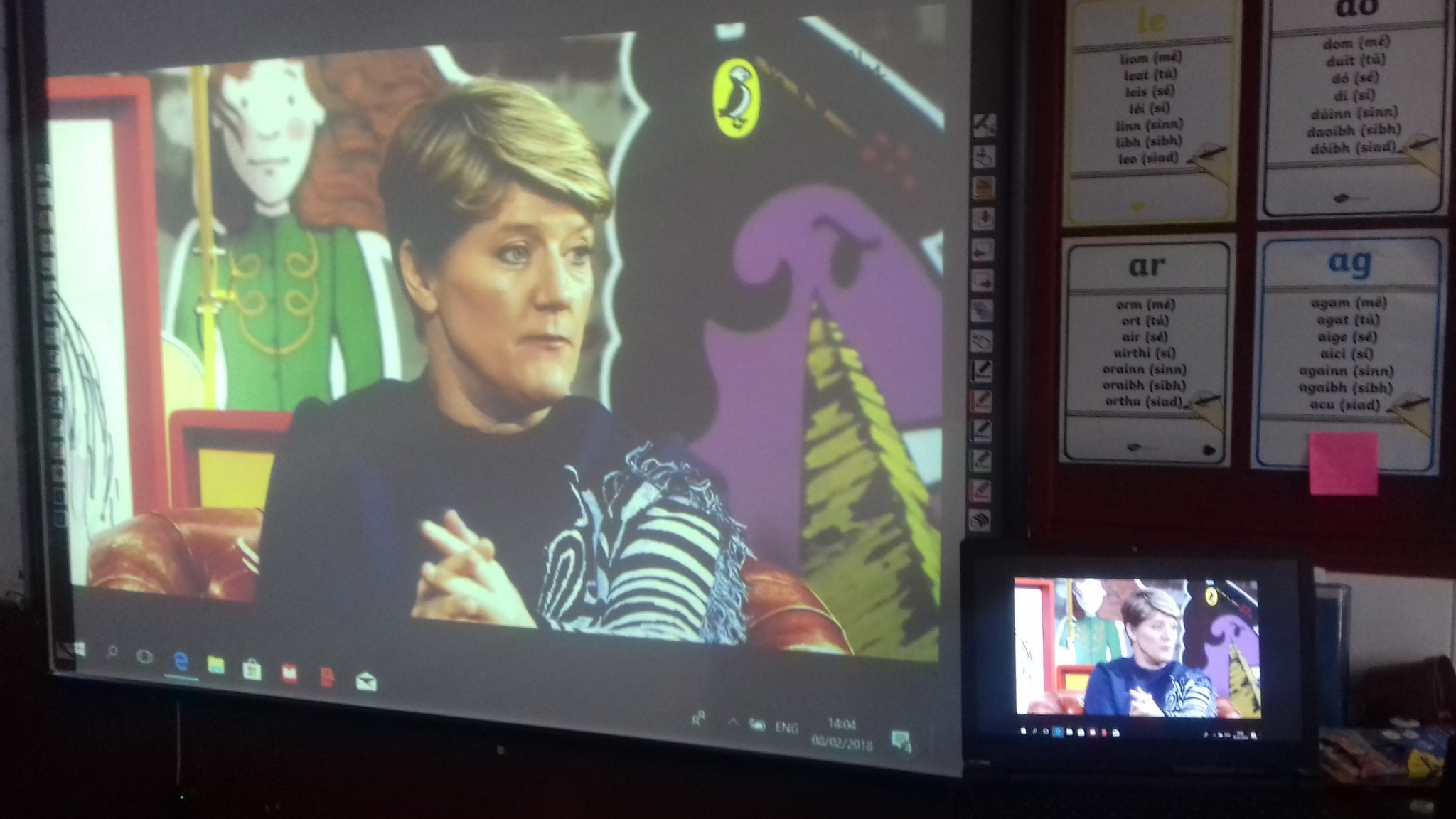 Cloughfin NS On Twitter We Are Listening To Author Clarebalding Puffin Virtually Live Ellie In 5th Class Is Currently Reading One Of Her Books