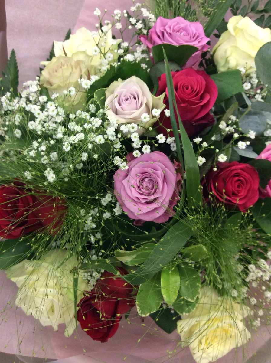 Heather groves heathermgroves twitter valentinesday love flowers florist swindon roses gypsophilia pink cerise lilac cream whitepicitterfaclzrqkvs izmirmasajfo
