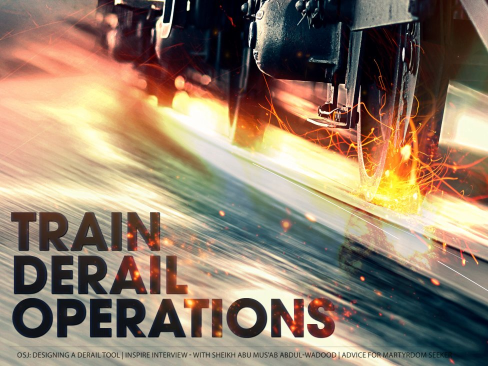 Remember - #AlQaeda published an entire magazine on how to derail #trains in Europe and America https://buff.ly/2H0AV2A #terrorism #Transportation #infrastructure #PublicSafety #travel #FuckAlQaeda pic.twitter.com/SX9WgXWz6o