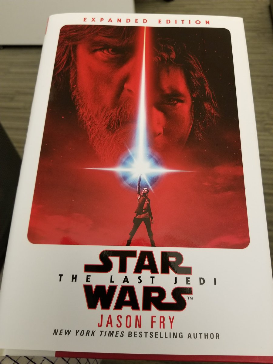 The Last Jedi and the Shakespeare Novelizations DVhQCP_VMAAJ4Cv