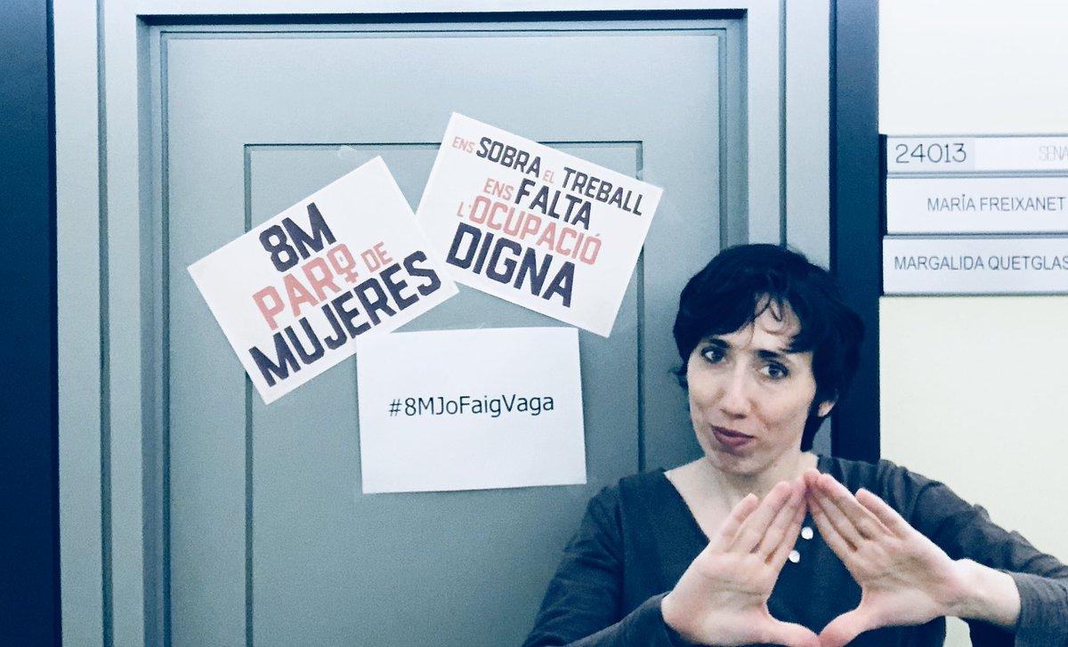 Maria Freixanet's photo on #8MJoFaigVaga