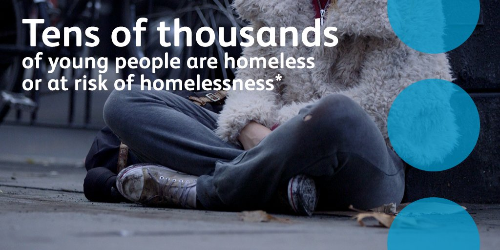 At The Co-operative Bank we believe no young person should be homeless which is why were proud to support @centrepointuk and their mission to end youth homelessness in the UK. #CPatthePalace  *London Assembly Study. Sept 2017.