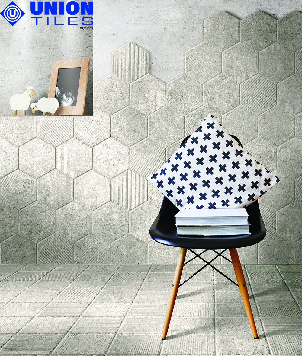 The latest design trends are shifting in the direction of decorative elements &amp; composition patterns. At the forefront of this retro pattern is the Hexagon Tile, a format set once again to play a role in every room in the house  http:// ow.ly/QqHl30ihxoO  &nbsp;    #tiletrends #hexagonaltiles <br>http://pic.twitter.com/lj13NjY9R3