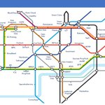 A #PropTech #London tube map to help people to find there way around...#AI #VR #BIM #GIS