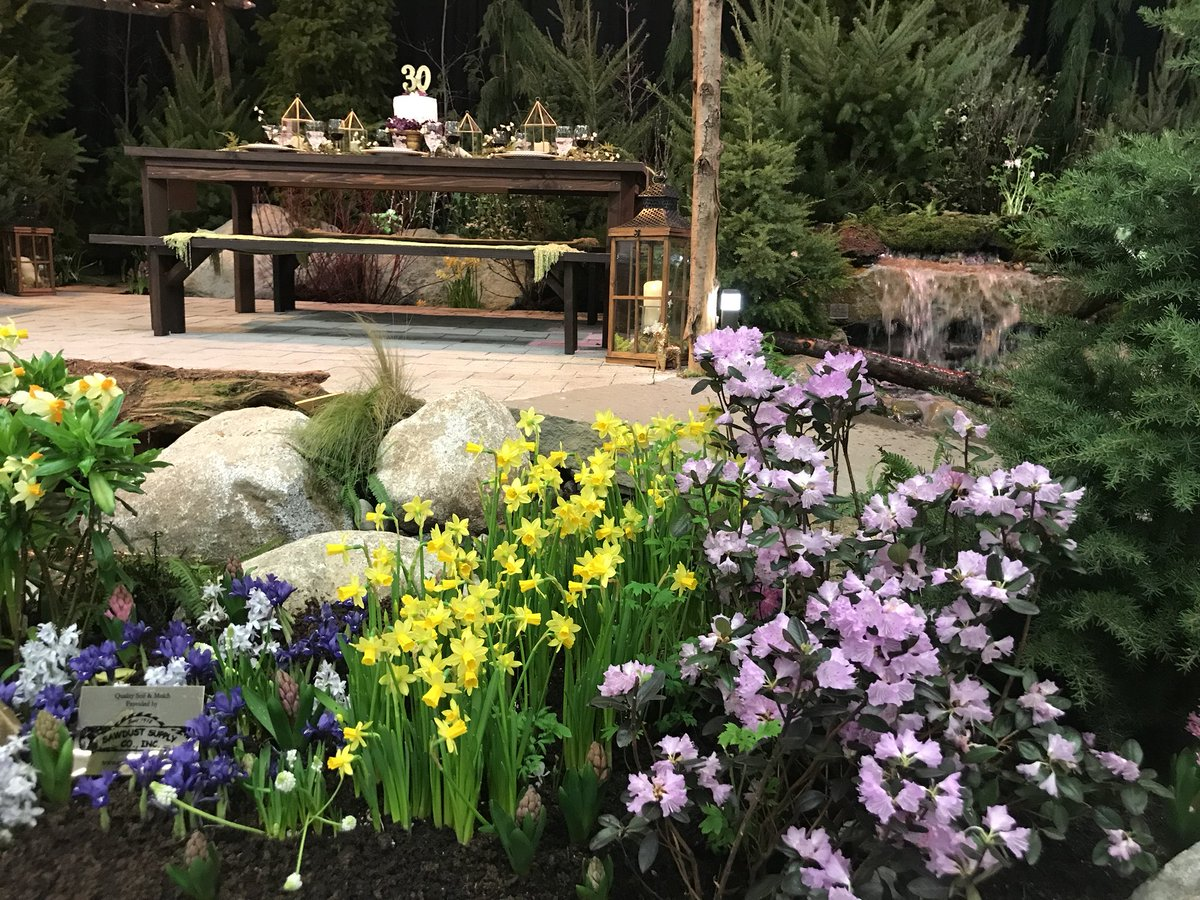 Weu0027re At The #NWFGS In #Seattle Checking Out The Display Gardens And They  Look Great! Such A Great Place To Be Inspired And Meet Like Minded Garden  ...
