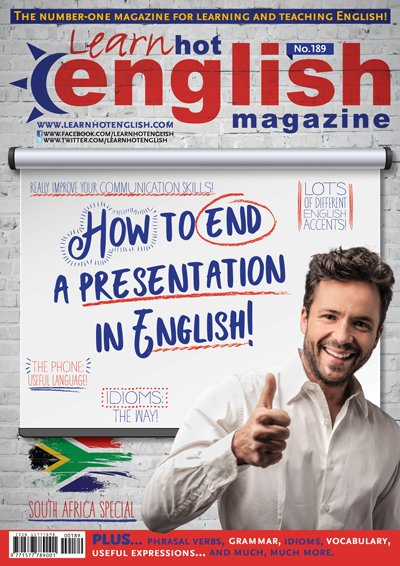 """Learn Hot English on Twitter: """"Great news! The latest issue of Hot ..."""