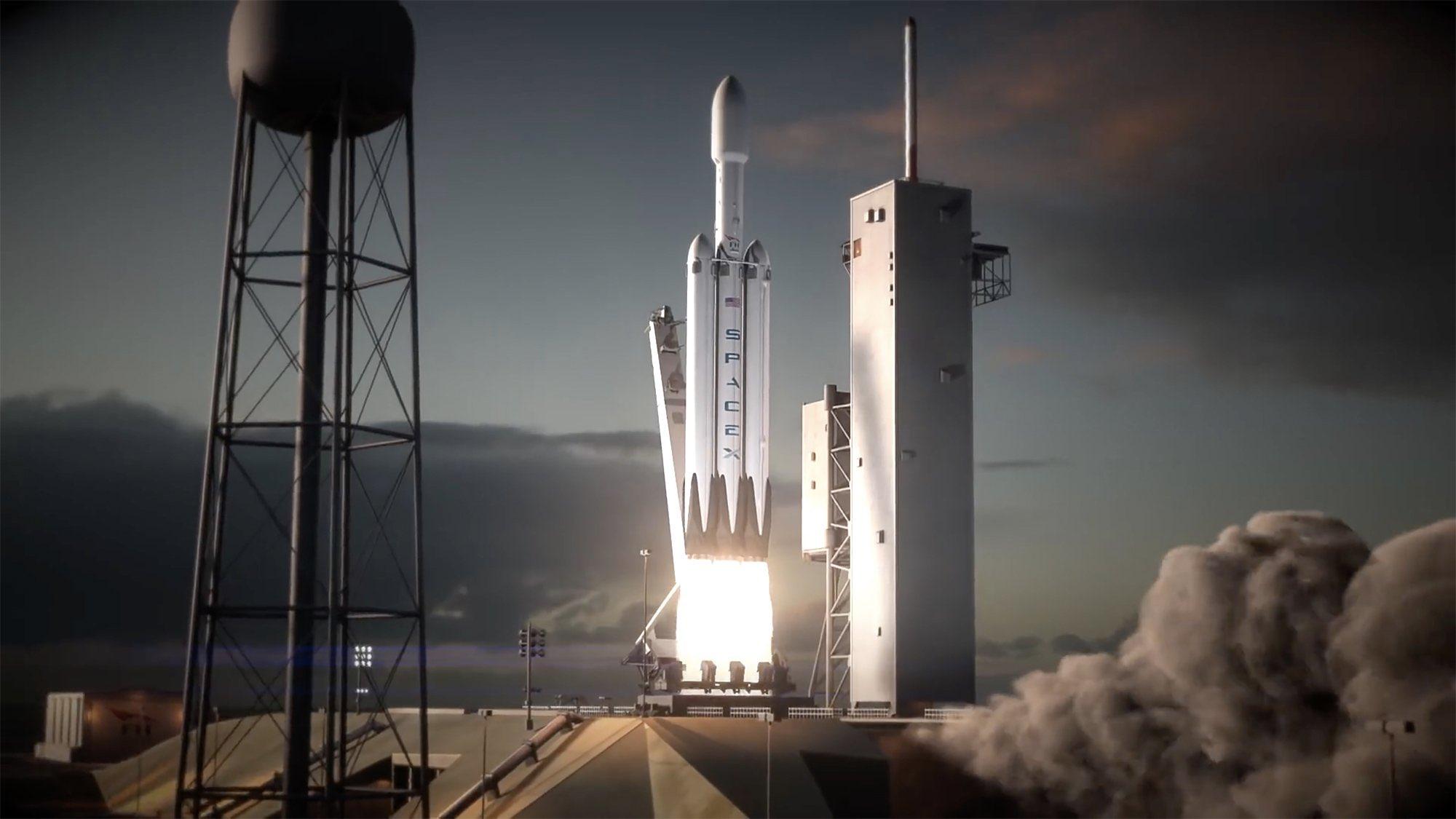 future rocket launching video - HD1915×1072