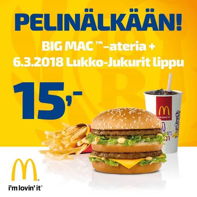 Big Mac Ateria Kalorit
