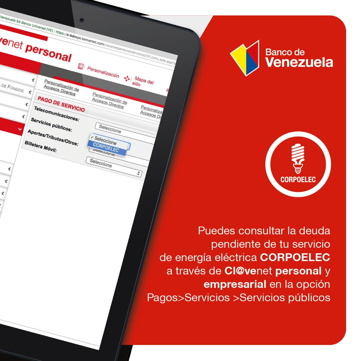 Banco de venezuela bcodevenezuela twitter for Banco de venezuela clavenet personal