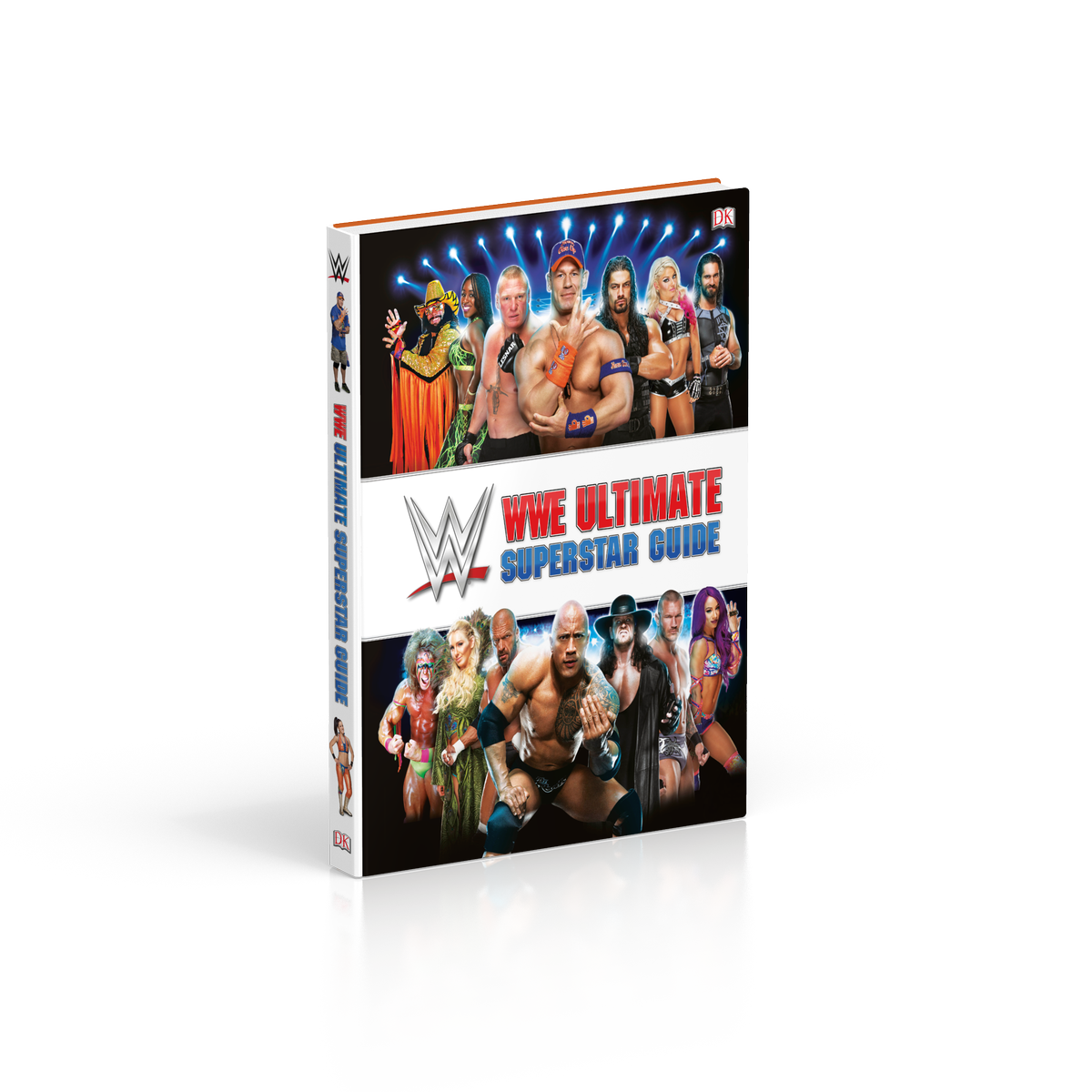The @WWE Ultimate Superstar Guide features 200 ALL NEW profiles of Superstars from #RAW, #SmackDown Live, #NXT and WWE history! Out March 5! Pre-order: wwe.me/EFQABq