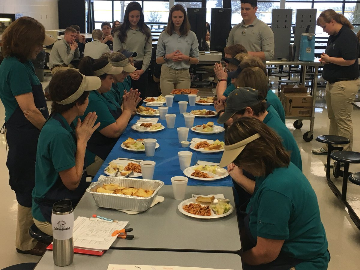 high school lunch table. They Also Helped Serve Their Fellow Students In The Lunch Line And Assisted With Dish Washing! Great Work, Saints! High School Table