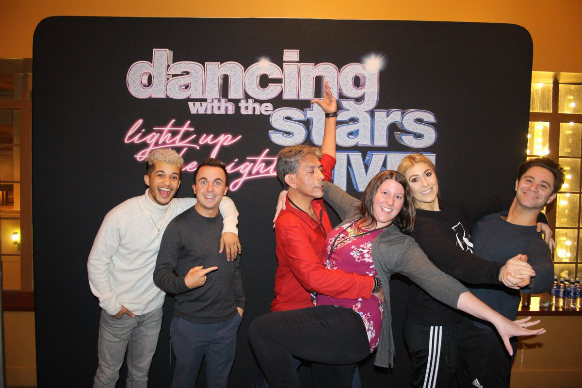 Vip Nation On Twitter Tbt To The Dwtslivetour With The Stars