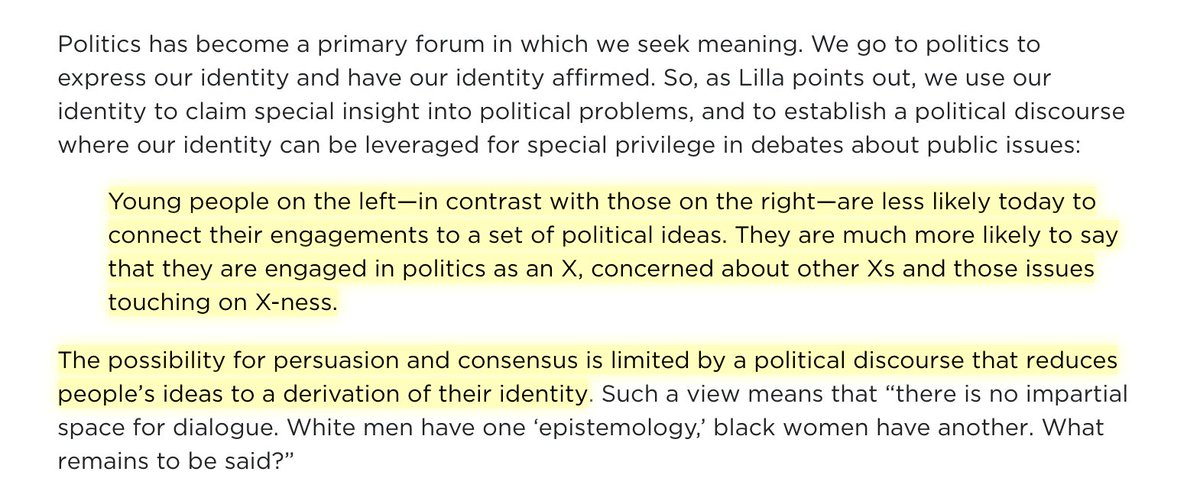 identity politics opinion on articles Identity politics hits a brick wall identity politics, lilla argues in his new book the once and future liberal, is a myopic tactic for regaining political ground.