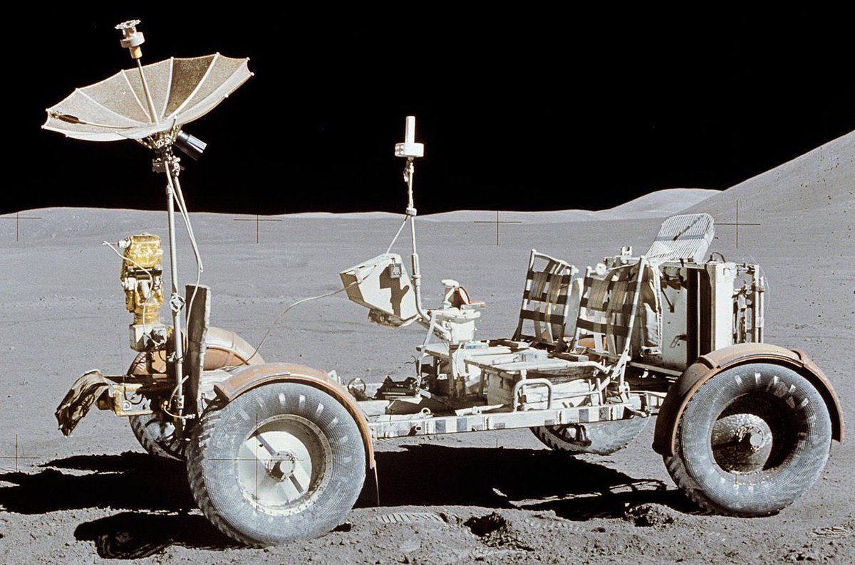Just remember THIS was the first car in space. https://t.co/neMx2wLclY