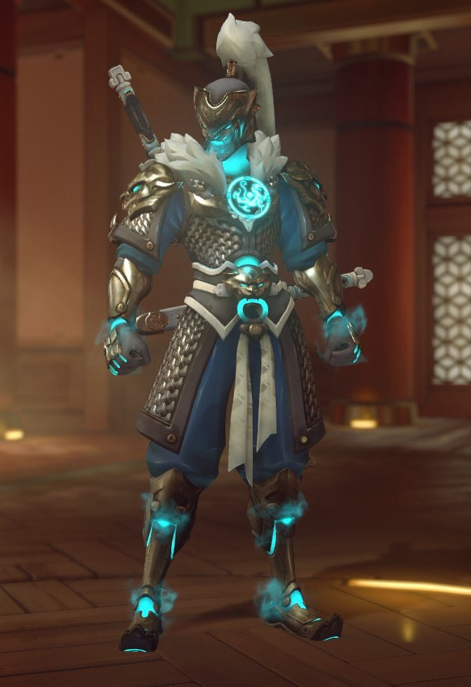 how to get the omi genji skin