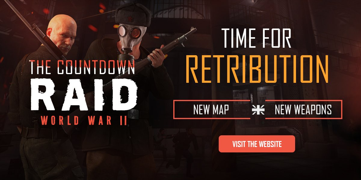 Raid world war ii raidww2 twitter the game by 50 learn about the countdown update here httpsraidworldwar2the countdown go in depth gumiabroncs Gallery