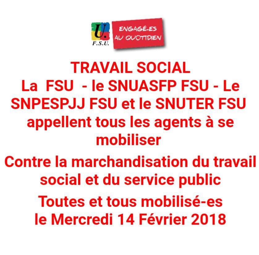 c3d41691756 Non à la marchandisation du travail social ! Oui à une vraie reconnaissance  et à des moyens pour accompagner dignement le public !